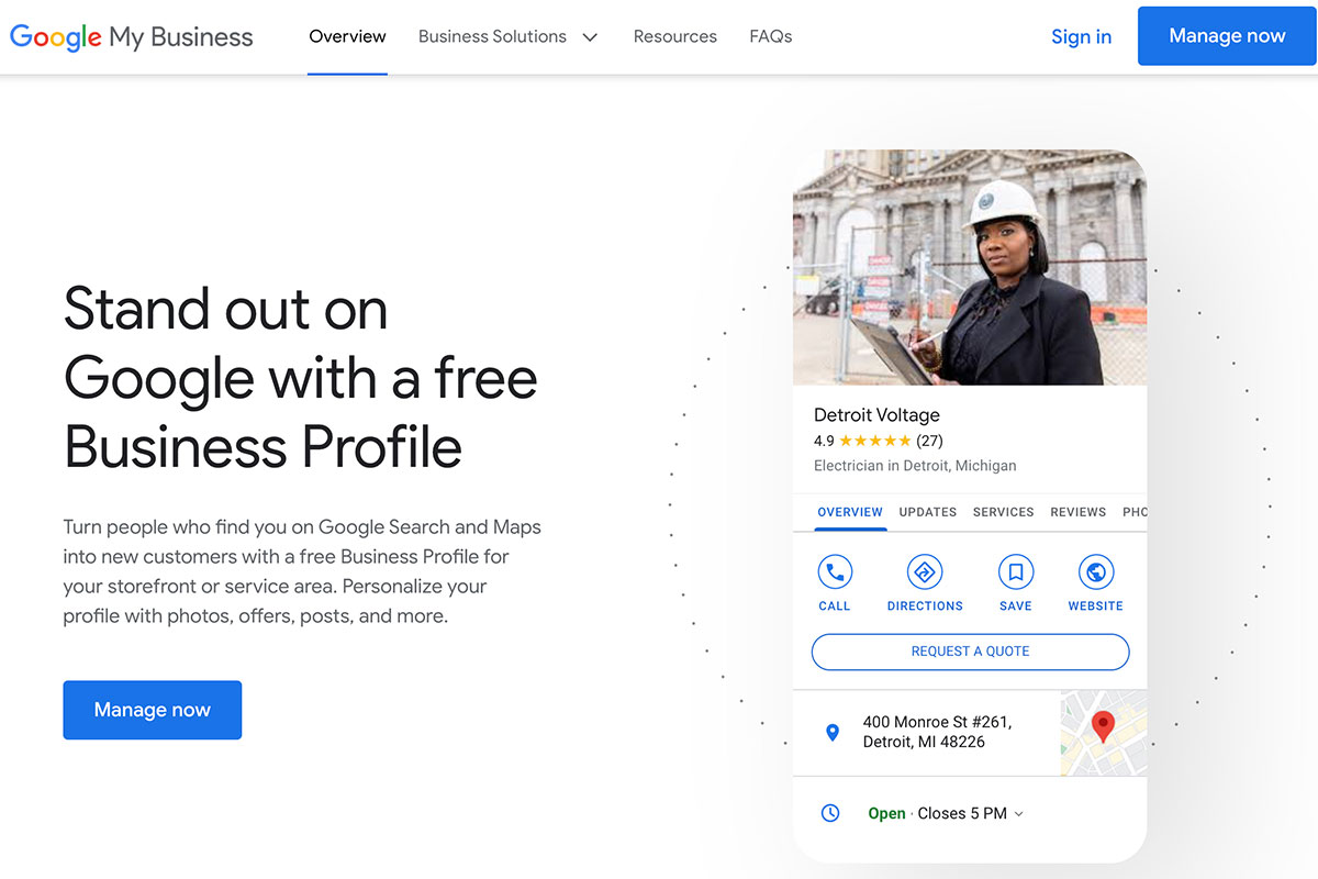 Google My Business - Overview